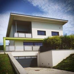 Projekt novostavby rodinného domu Jihlava