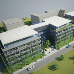 Návrh novostavby administrativní budovy Praha