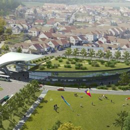 Návrh nového vstupního areálu do ZOO Brno