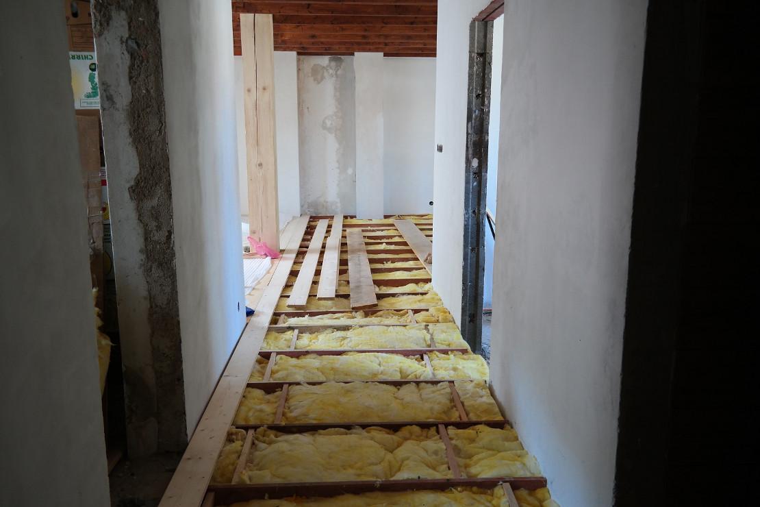 Zateplení podlahy